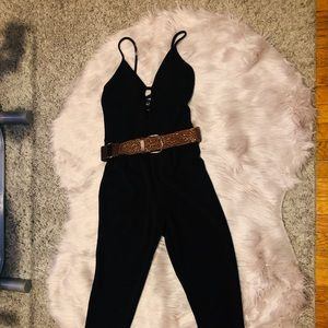 Black Romper/Jumpsuit